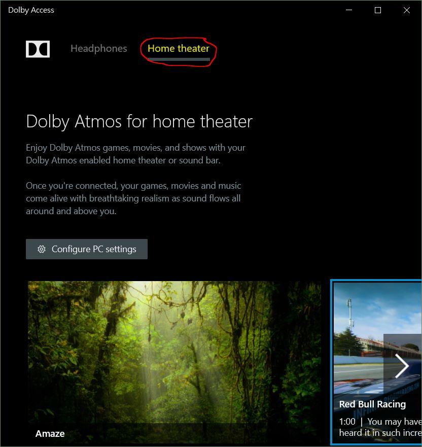 Windows 10 Dolby Atmos 環迥立體聲效app - Windows 探索- 電腦